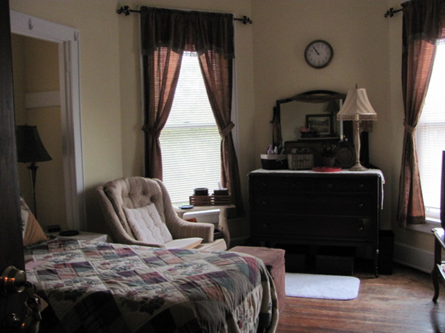 Resident room in our transitional housing supports economic stability and development